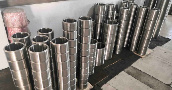 Cast high manganese steel bushing